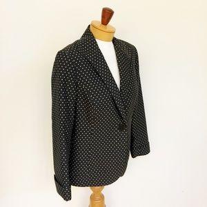 Lafayette 148 Brown Cotton Blazer Lined Size 4